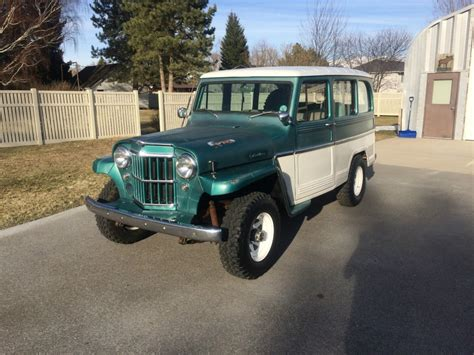 1963 Willys Jeep Station Wagon For Sale