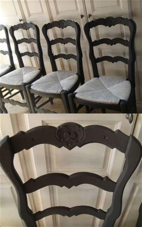 repeindre des chaises en bois et paille 42755055 photo de les patines belette etc