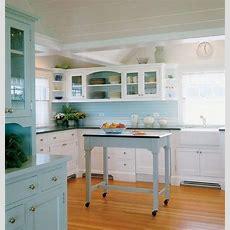 Something Blond Blue Kitchens