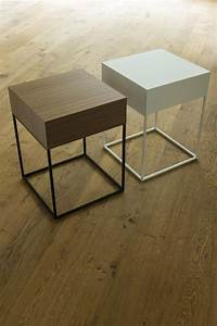 MDF modern side table living room furniture - 012 - Bona ...