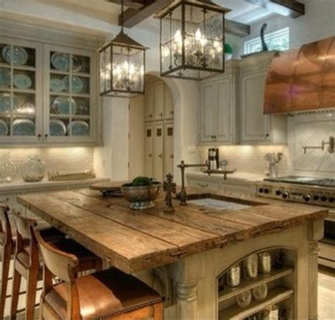 rustic kitchen island lighting the rustic kitchen island would change the wall