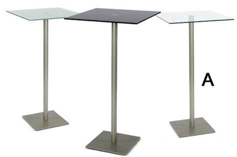 table de bar carr 233 e transparente tables de bar meubles d 233 cos du monde
