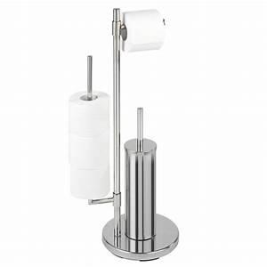 Wc Papierhalter Stehend : fehr badshop stand wc garnitur universalo neo ~ Whattoseeinmadrid.com Haus und Dekorationen
