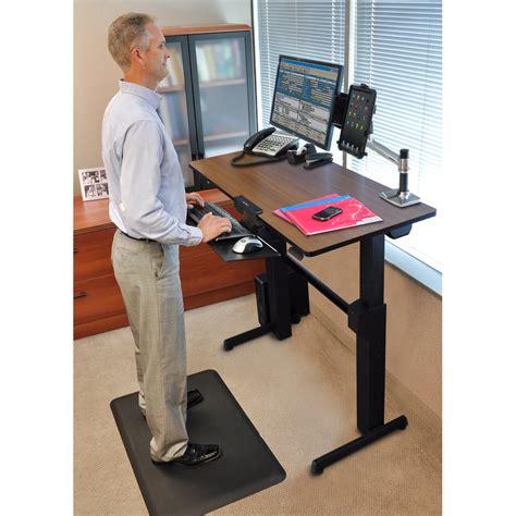 ergotron standing desk accessories standing desk ergotron 24 271 927 workfit d