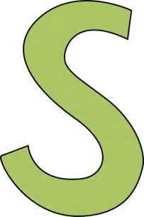 Green Letter S Clip Art