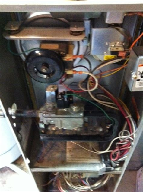 bryant heater  flashing code    changed filter