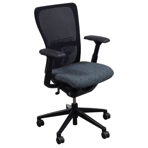 Zody Task Chair Headrest by Haworth Zody Used Task Chair Gray Circle Pattern