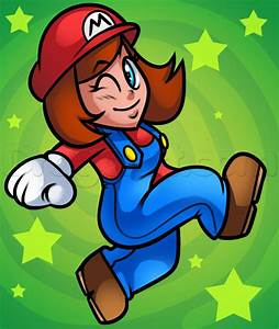 How to Draw Girl Mario, Step by Step, Video Game ...