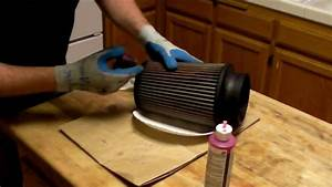 How To Clean And Oil A K U0026n    S U0026b Air Filter