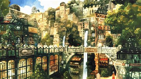 City Anime Wallpaper - anime city wallpaper anime wallpapers 28573