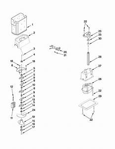 Kenmore Spacesaver Ice Storage System Diagram