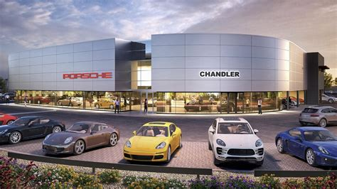Porsche dealership breaks ground in suburban Phoenix ...