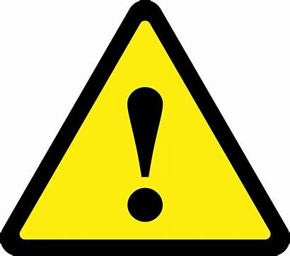 Triangle Yellow Clipart Caution Sign Clip Library