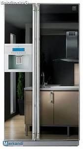 Kühlschrank Side By Side A : k hlschrank side by side american fridge freezer a und b ware ~ Frokenaadalensverden.com Haus und Dekorationen