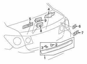 Chevrolet Cruze Deck Lid Finish Panel  W  O Rear Camera