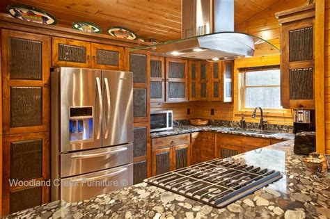 pictures of kitchens with painted cabinets rustic kitchen cabinets cabin cabinetry knotty alder 9125
