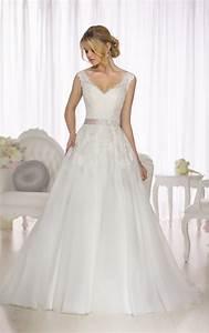 Wedding dresses a line wedding gown essense of australia for Wedding dress cuts