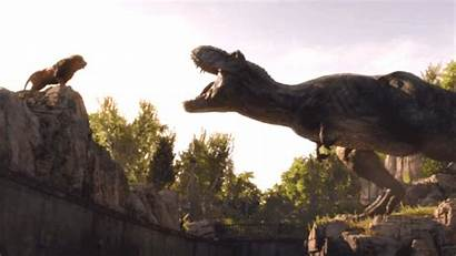 Scene Jurassic Fallen Kingdom Dinosaurs Entertainment Again