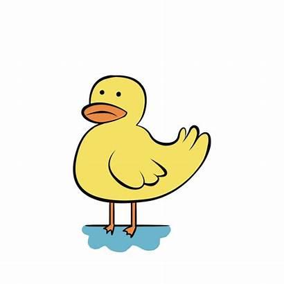 Clipart Duck Sad Animated Transparent Sticker Goose