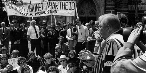 White Protest Against Apartheid The Daily Vox
