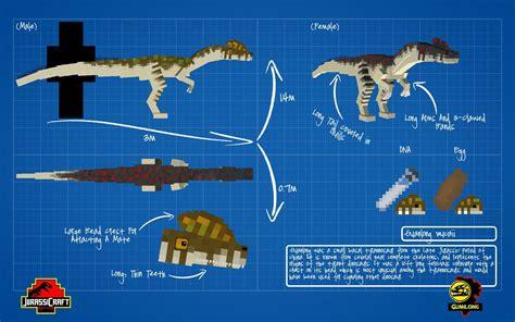 jurassic craft guanlong jurassiccraft  dinocraft