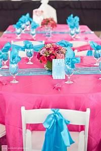 pink blue wedding reception decor wedding decor With pink and blue wedding ideas