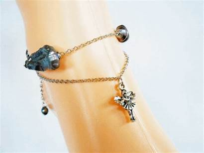 Pearls Silver Chains Anklet Chain Jewelry Freshwater