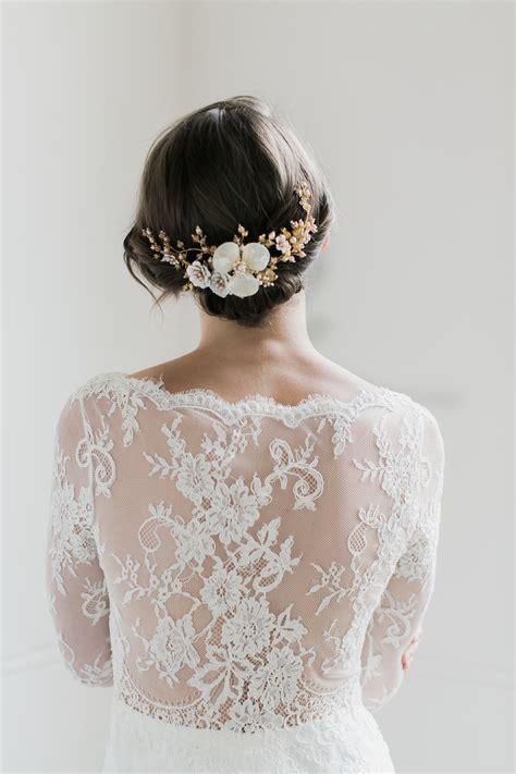 Magnolia Floral Bridal Headpiece Tania Maras Bespoke
