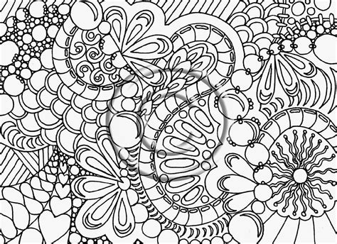 printable advanced coloring pages mandala nature