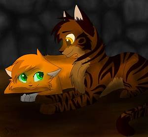 Squirrelflight And Brambleclaw By FrostedGamingWarrior On