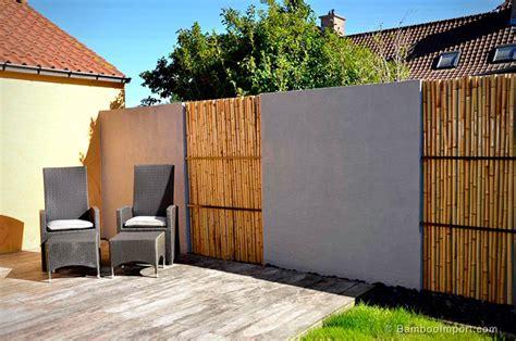 recinzioni  bambu  idee  design ecosostenibile