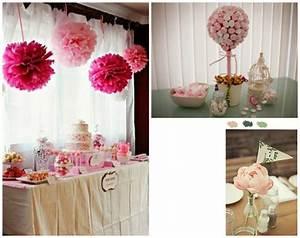 Decoration Pour Bapteme Fille : d coration de bapt me de fille pimprelys blog d co r cup ~ Mglfilm.com Idées de Décoration