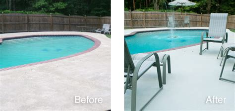 pool decks and patios paint concrete revive kit gulf synthetics twpstain