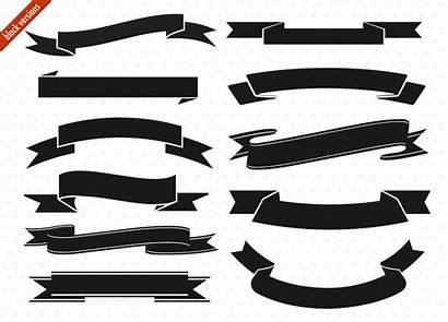 Banner Ribbon Vector Clip Clipart Digital Deviantart