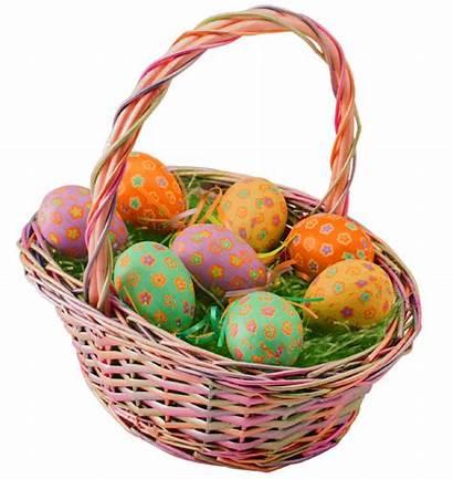 Easter Basket Transparent Background Egg Baskets Eggs