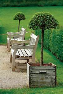 Banquette Bois Exterieur : voici nos exemples pour un banc de jardin ~ Farleysfitness.com Idées de Décoration