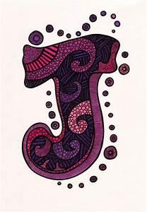 letter art prt i letter j illusio creative art With letter art j