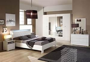 Neon Deco Chambre : alaska chambre coucher dans un style romantique en panneaux de particules eclairage n on ~ Melissatoandfro.com Idées de Décoration