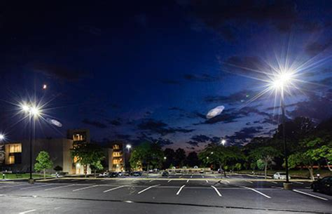 led parking lot lighting installation and repair in ta