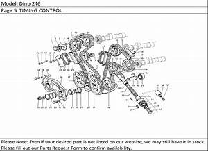 Buy Ferrari Part   4195781 Timing Gears Support  Dino