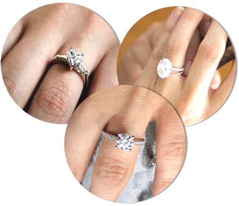 engagement ring styles    blend   finger