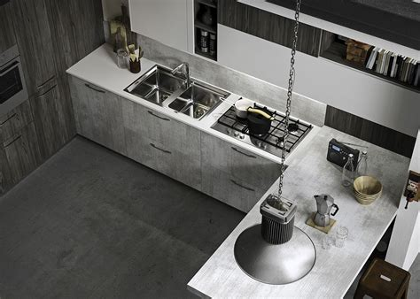 Refined, Reliable And Edgy Fun Adaptable Kitchen By
