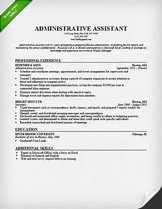 Administrative assistant resume skills best resume gallery for Admin resume template