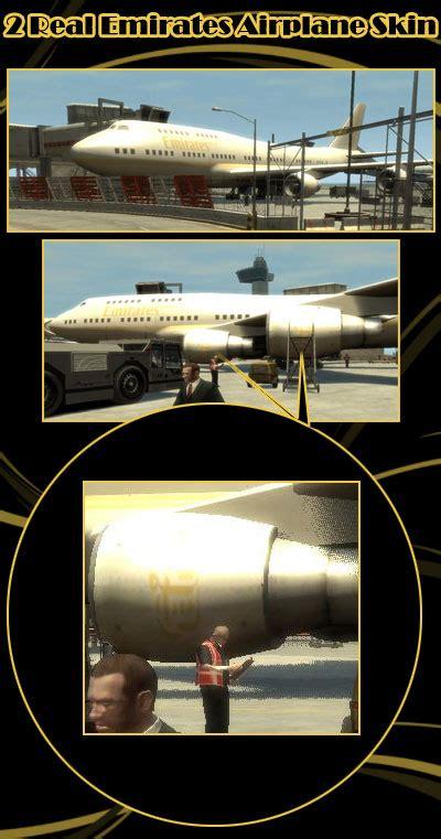 aerei emirates gta  mods generiche gta expertit