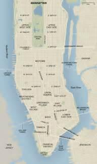 Manhattan Map