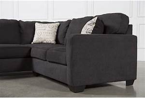 Alenya charcoal 2 piece sectional w raf loveseat living for Alenya 2 piece sofa sectional in charcoal