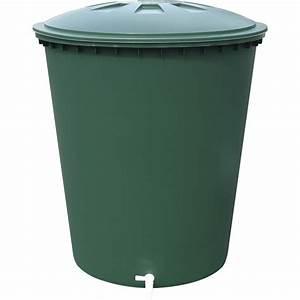 Bac Récupérateur D Eau De Pluie : r cup rateur d 39 eau a rien garantia cylindrique vert 310 ~ Premium-room.com Idées de Décoration