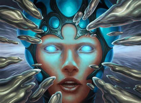 MtG Art: Serum Visions (Promo) from Promos Set by Dan ...