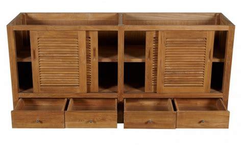 72″ Touraine Teak Outdoor Kitchen Cabinet  Kitchen Design