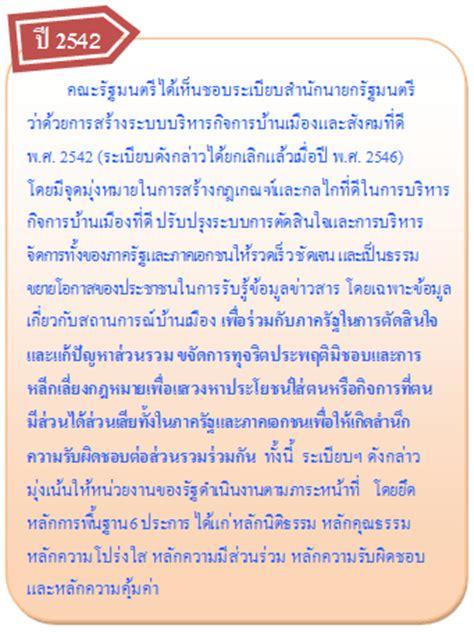 ธรรมาภ บาล สลค ธรรมาภ บาลในประเทศไทย